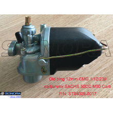 China Gold Supplier for Bing Style Carburetor Puch Tomos Sachs Old bing 12mm CMG 1/12/239 Carburetor SACHS 50CC M50 Carb supply to Russian Federation Supplier