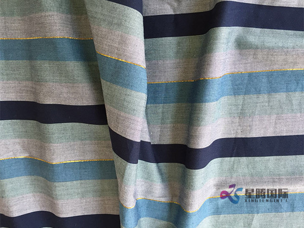 Yarn Dyed Woven For Shirt With Melange Fabric