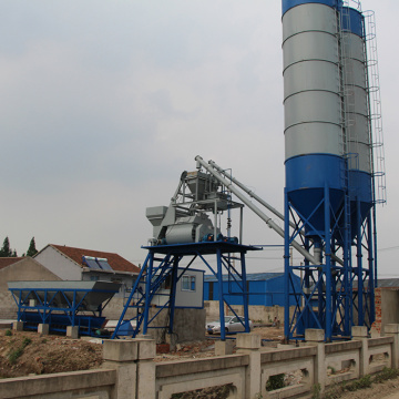 advanced ready mixed 25m3 concrete batching plant