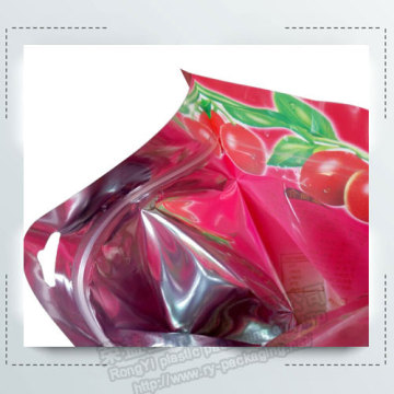 Custom Printed Resealable Aluminum Foil Packaging Bags