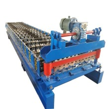 PLC Control IBR Roof Sheet Roll Forming Machine