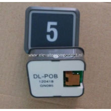 Ultrathin Push Button for Hitachi Elevators DL-POB