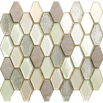 Glamorous And Graceful Hexgan Mosaic