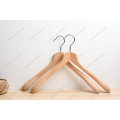 Luxury Customized Beech Wooden Clothes Suit Hanger