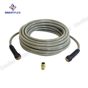Water conveying m22 pressure washer hose