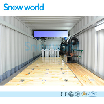 Snow world 7.5T Containerize Block Ice Machine