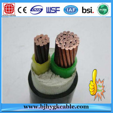 PE Ultra Violet Stabilized Middle Voltage Electric Cable and wires Black
