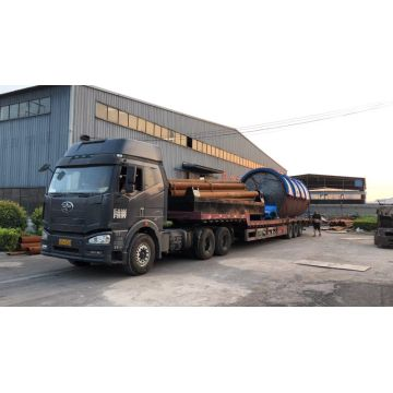 latest pyrolysis machine delivery to Thailand