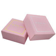 custom small earring pink jewelry box