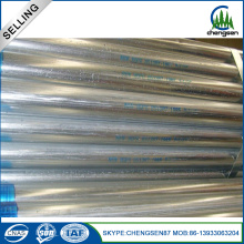 Leading for Galvanized Iron Pipe 3/4 Inch GI Galvanized Steel Round Pipe export to France Manufacturer