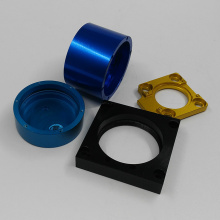 Color Anodize aluminum parts for machining