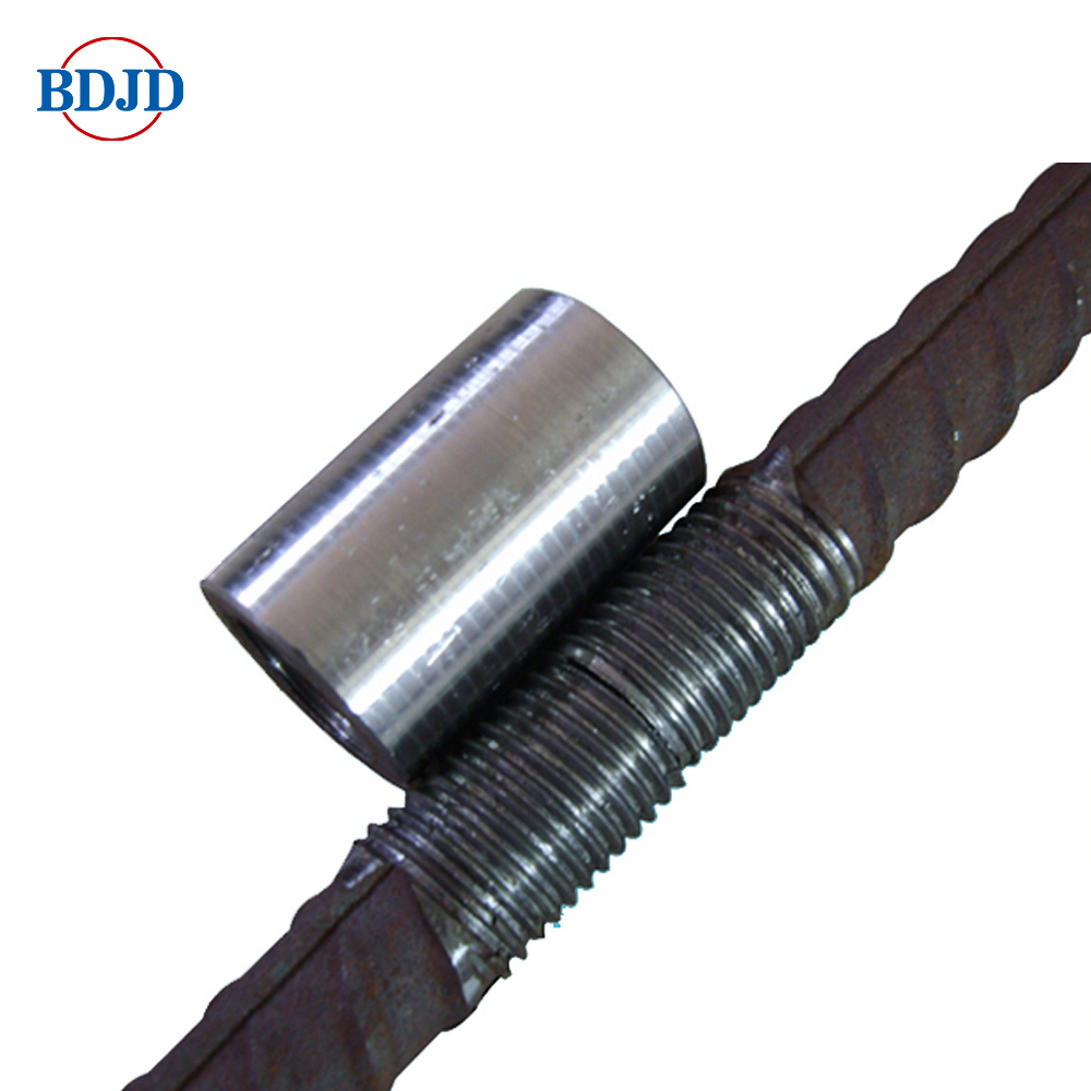 Construction Building Material Steel Rebar Splicing Coupler