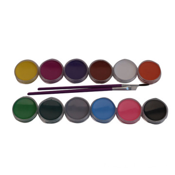 Waterbased Non-Toxic Makeup Face Paint Kit