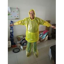 One of Hottest for PE Raincoat cheap PE raincoat suit with shoes export to Portugal Factory