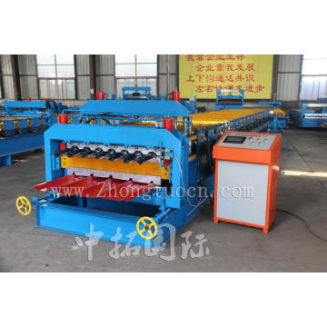 Double Layer Galvanized Roofing Sheet Roll Forming Machine