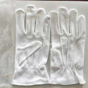 White Cotton Gloves for Marching Band