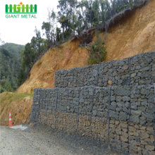 Galvanized hexagonal wire mesh roll  gabion
