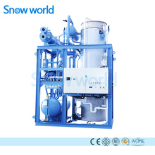 Snow world Clear Tube Ice Machine 20T