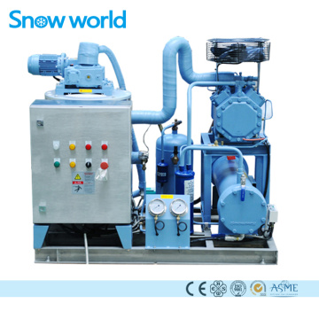 Snow world Salt Water Flake Ice Machine