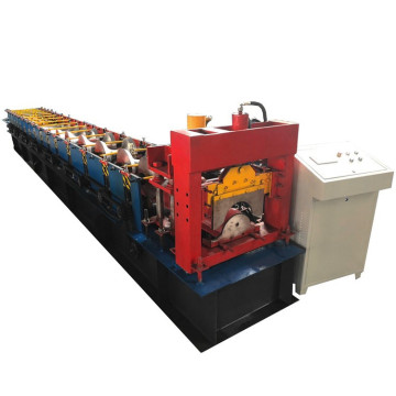 Roof ridge cap press roll forming machine