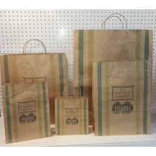 Free sample for Twist Handle Brown Paper Bag Twisted Handle Kraft Paper Gift Bag supply to Poland Supplier