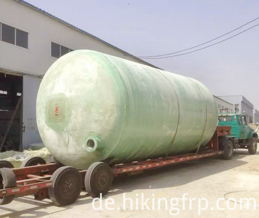 Winding Machine Producing Septic Tank