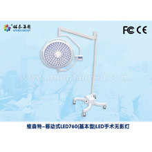Factory Price for Mobile Wall Shadowless Lamp Mobile medical surgical light supply to Sao Tome and Principe Importers