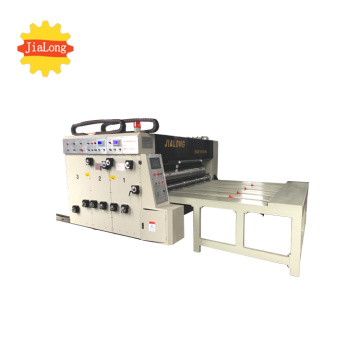 Semi automatic printer slotter die cutter machine