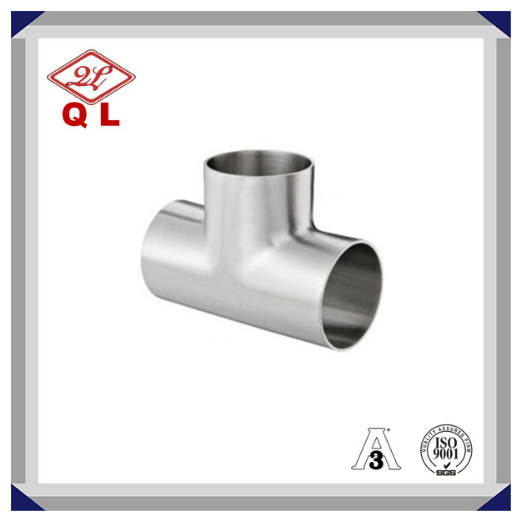 Sanitary Stainless Steel Welded Equal Tee