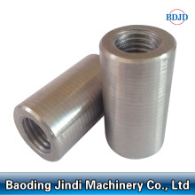 High reputation for for Construction Cylindrical Rebar Coupler Building Material Mechanical Reinforcing Rebar Coupler Joint supply to United States Factories