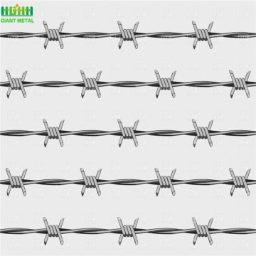 Galvanized PVC Coated Barbed Wire For Sale