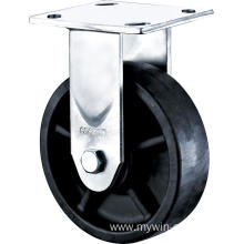 4'' Heavy Duty Plate Rigid High Temperature Caster