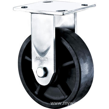 6'' Heavy Duty Plate Rigid High Temperature Caster