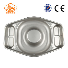 Big Thickening Pig Stainless Steel Wet Feed Pan