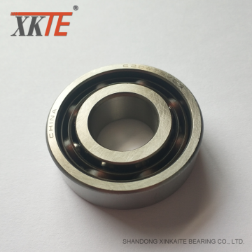 PA66 GF30 Cage Bearing For Mining Conveyor Idler Roller