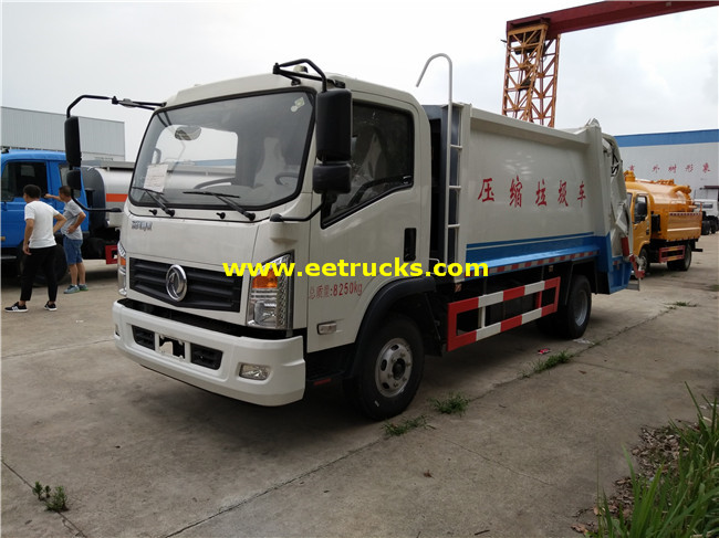 5000L Compression Garbage Trucks