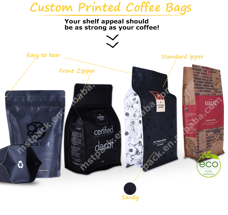 Coffee Biodegradable bag 6