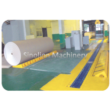 Paper Roll Wrapping and Conveying System