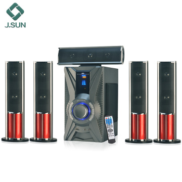 Home speaker types usb theater system
