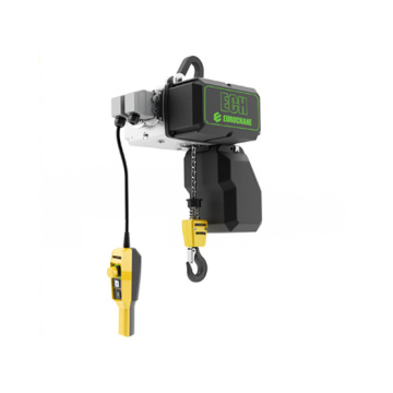 short headroom electric wire rope hoist