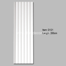 Cheap for Sliding Door Panels Best Selling PU Fluted Pilaster Column supply to Netherlands Importers