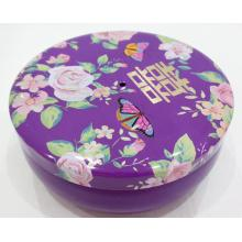 Top for Custom Candy Tin Box Purple Sweet Candy Tin Box supply to France Factories