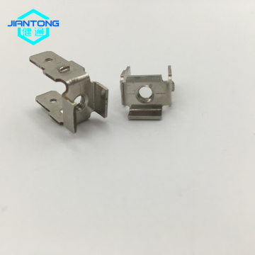 Precision Punched metal Products stamped copper connector