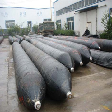 Inflatable Natural Rubber Marine Airbag CCS Pneumatic for shipyard