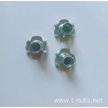 Full thread Pour tooth Fine grinding Tee nut