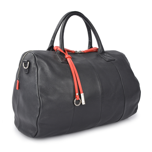 luxury high quality italian leather vintage real customized duffle bags
