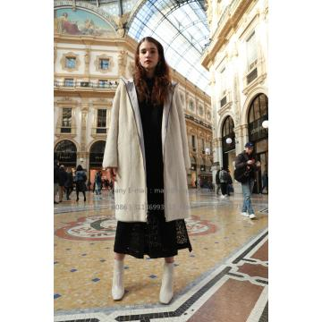 Lady Reversible Parka Mink Fur Coat