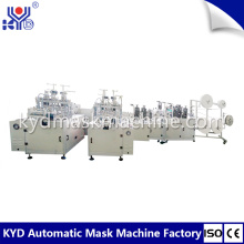 Tri-fold Fish Type Mask Making Machine Hot section