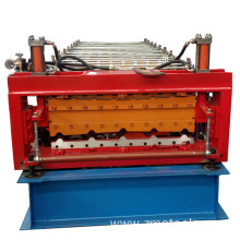aluminium step tile roll forming machine