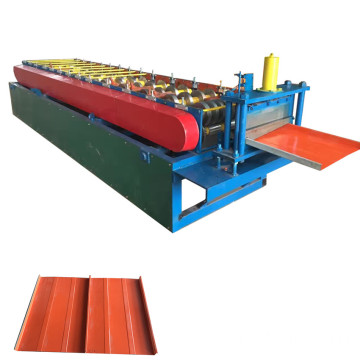 Automatic wall siding roofing sheet roll forming machine